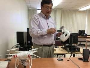 Drones seek out invasive aquatic plants
