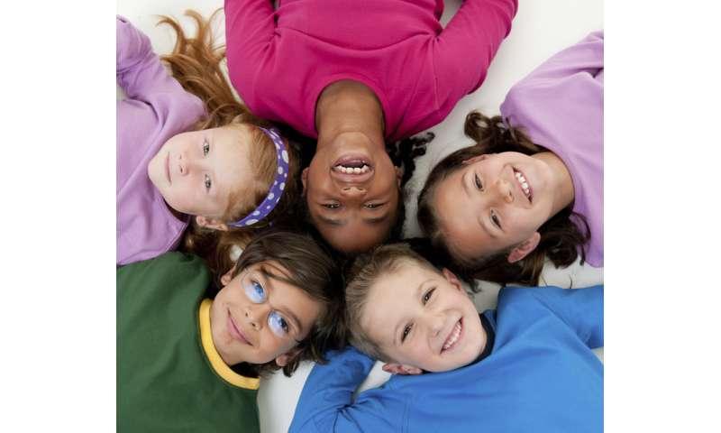 Early prosocial behavior good predictor of kids' future