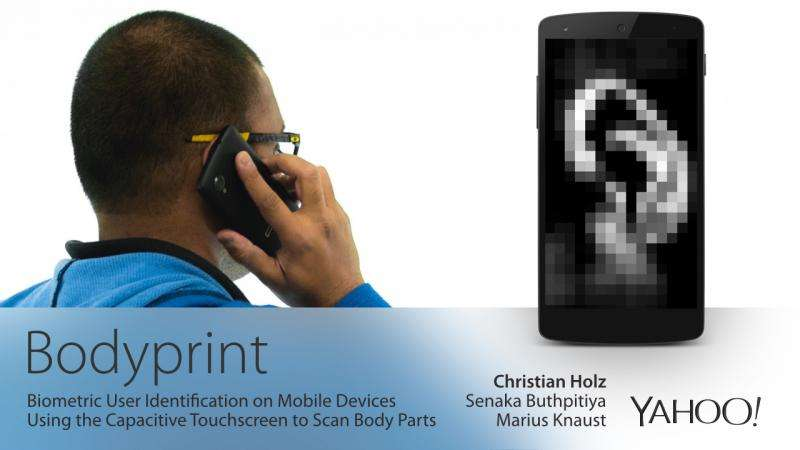 Ears, grips and fists take on mobile phone user ID