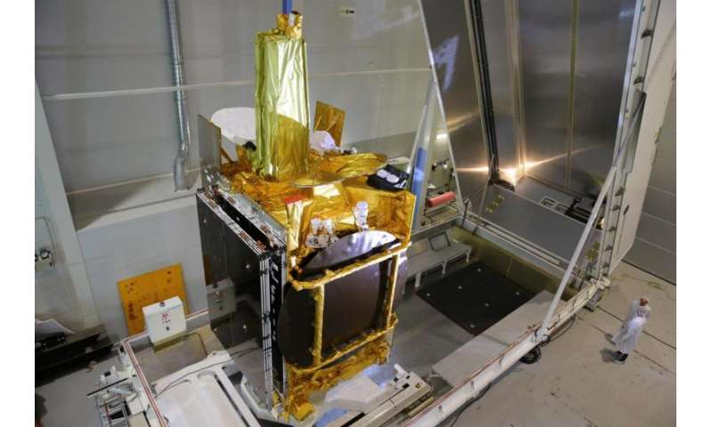 EDRS-A and its laser are ready to fly