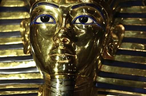 Egypt puts King Tut mask on exhibit after botched epoxy fix