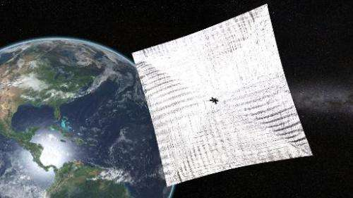 Electricity gained from solar panels in space could one day be beamed to earth