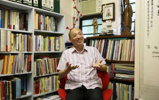 Emil Ng Man-Lun of Hong Kong University's Family Institute says that just five percent of Hong Kong locals have met a partner on