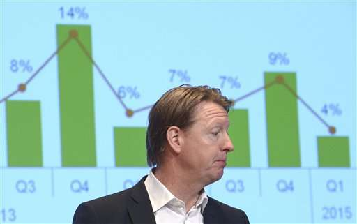 Ericsson profit hit by poor US performance,  global sales up