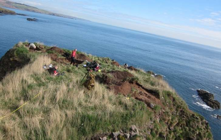 Evidence stacks up that rocky outcrop was home to earliest Pictish fort