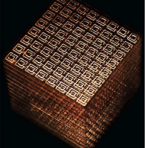 Example of metamaterial