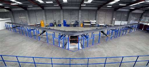 Facebook ready to test giant drone for Internet service