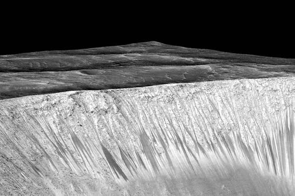 Finding that water is likely on Mars improves the prospects of microbial life there