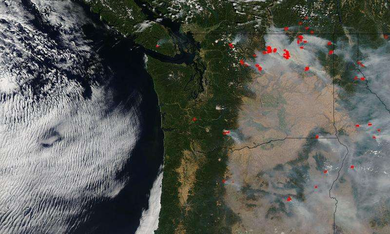 Fires ravaging Washington, Oregon, and California