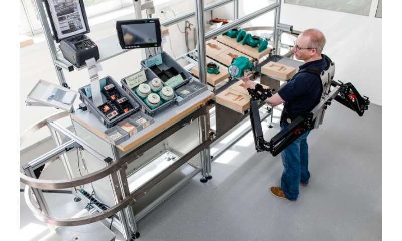 First exoskeleton for industry unveiled