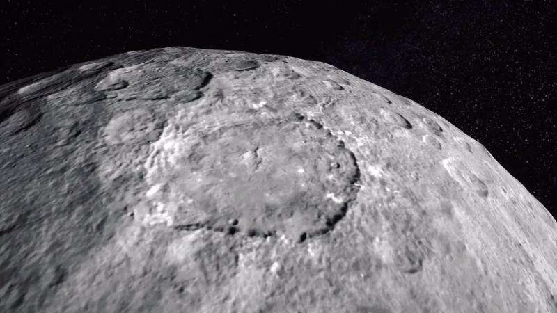 Fly Over Ceres in New Video