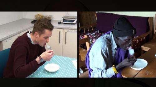 Food test comparison
