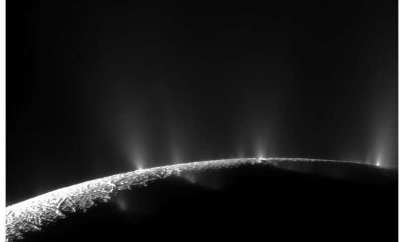 Geochemical process on Saturn's moon linked to life's origin