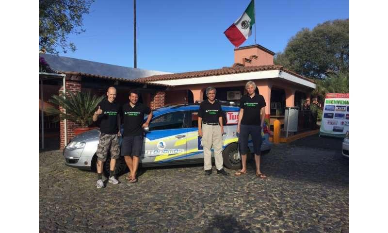 German autonomous car travels across Mexico