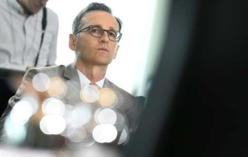 German Justice Minister Heiko Maas, pictured on July 29, 2015, said Facebook was required to delete posts in violation of German