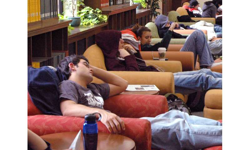 Getting teens back to school year sleep routines
