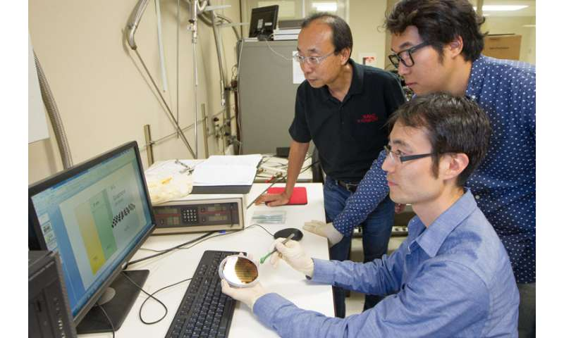 Graphene key to dense, energy-efficient memory chips, engineers say