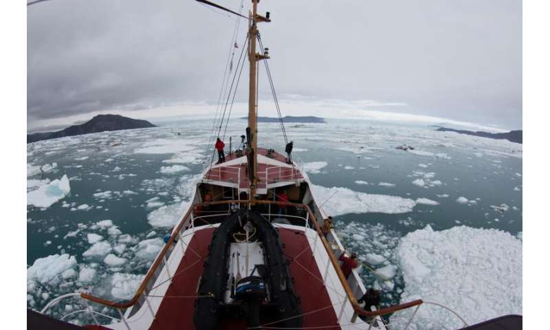 Greenland's undercut glaciers melting faster than thought