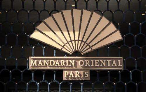 """Hackers broke into the Mandarin Oriental luxury hotel group's database and stole credit card information from """"an isolated"""