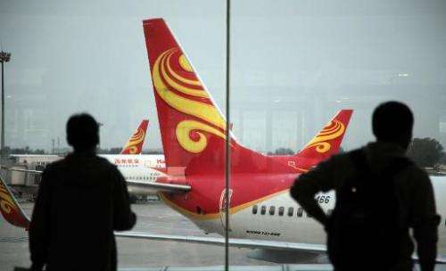 Hainan Airlines has completed the country's first commercial flight using biofuel, made from waste cooking oil