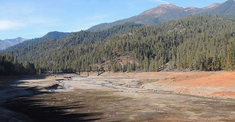 Heat Accelerates Dry in California Drought