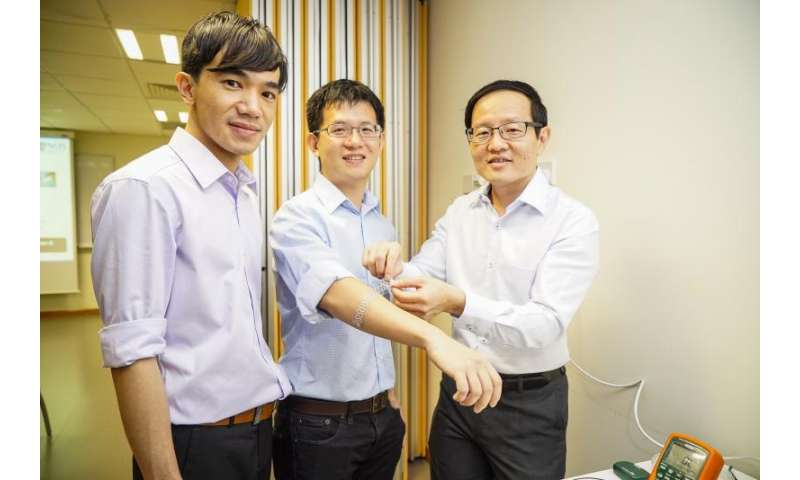 Highly flexible and wearable tactile sensor for robotics, electronics and healthcare applications
