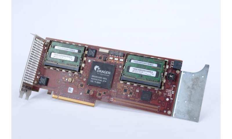 Hot processor speeds up UK genome analysis
