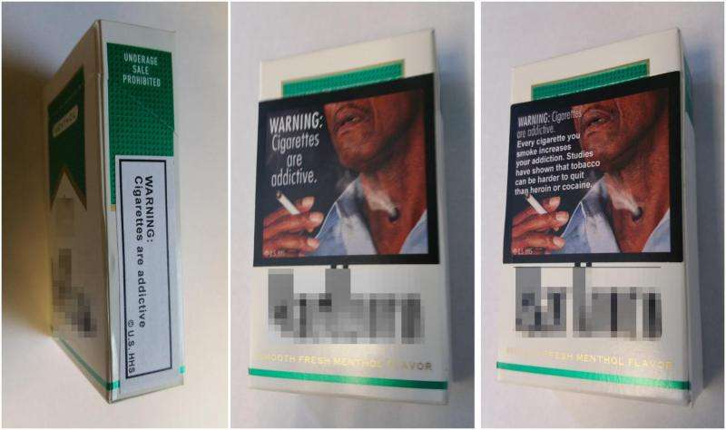 How graphic photos on cigarette packs help smokers consider quitting