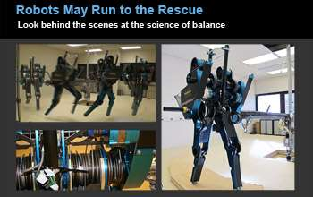 How someday robots may run to the rescue -- literally