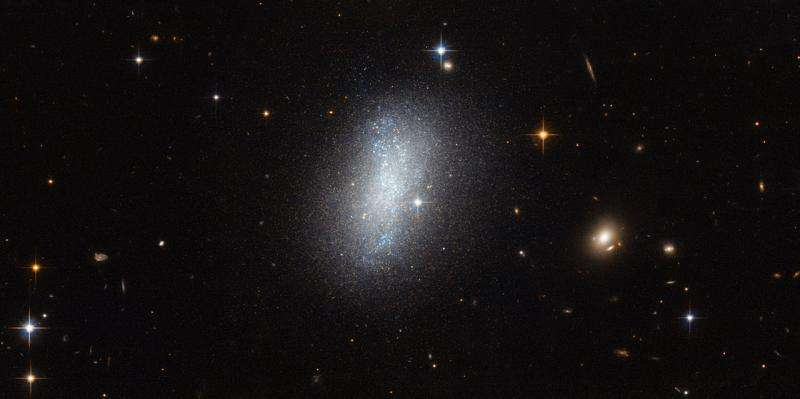 Hubble captures galaxy PGC 18431