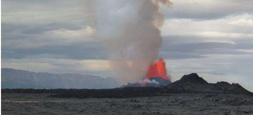 Icelandic volcano's toxic gas is treble that of Europe's industry