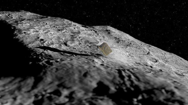 Image: AIM's asteroid lander