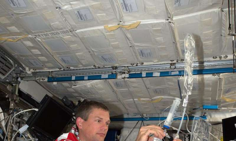 Image: Andreas in space
