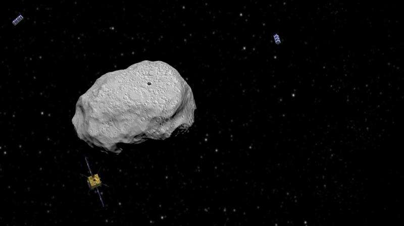 Image: Asteroid Impact Mission spacecraft