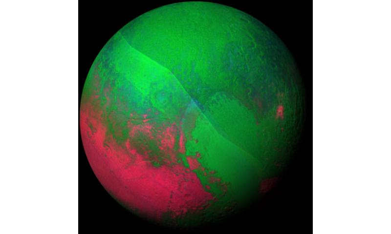Image: Christmas Pluto