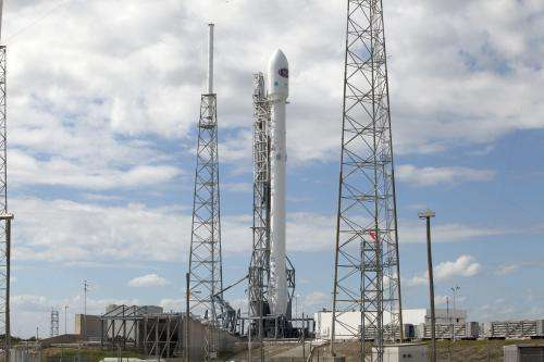 Image: DSCOVR on the launch pad