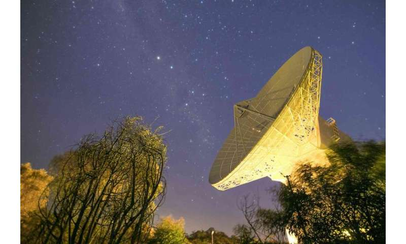 Image: ESA's deep-space tracking station at New Norcia, Australia
