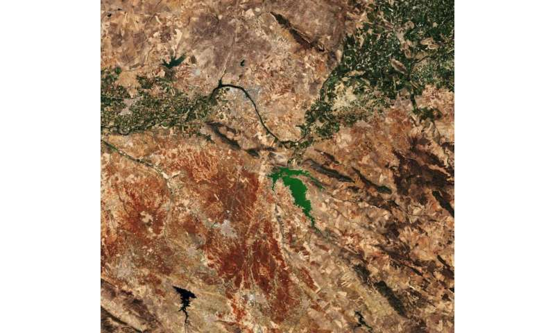 Image: Extremadura, in western Spain captured by Sentinel-2A