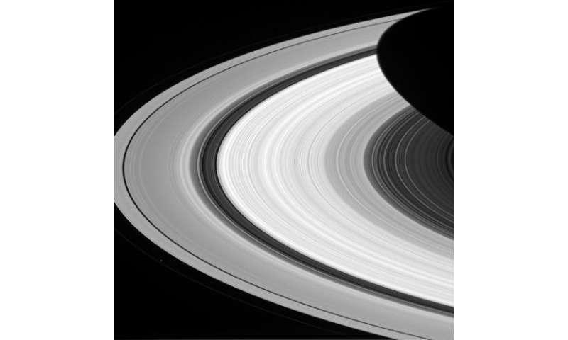 Image: Groovy rings of Saturn