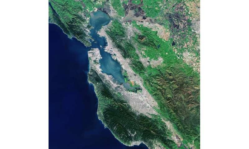 Image: Landsat-8 captures San Francisco Bay Area