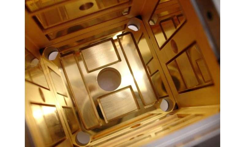 Image: LISA Pathfinder electrode housing box