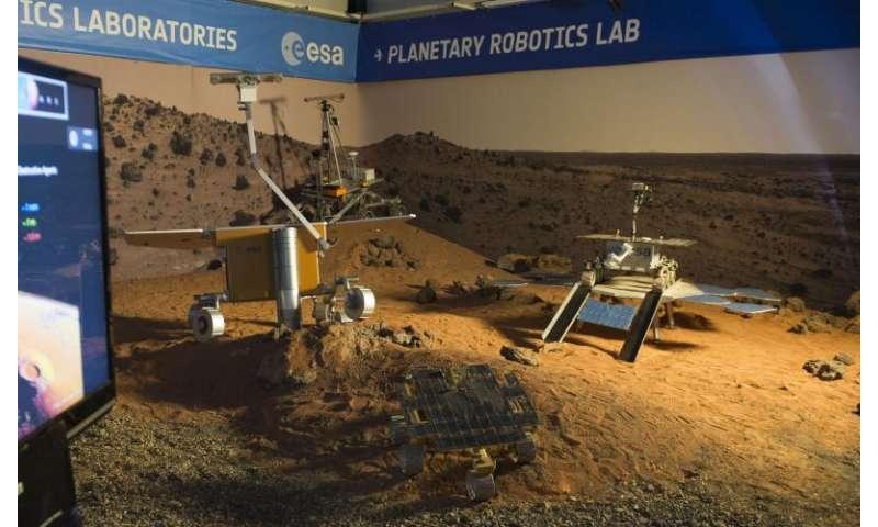 Image: Mars rover school