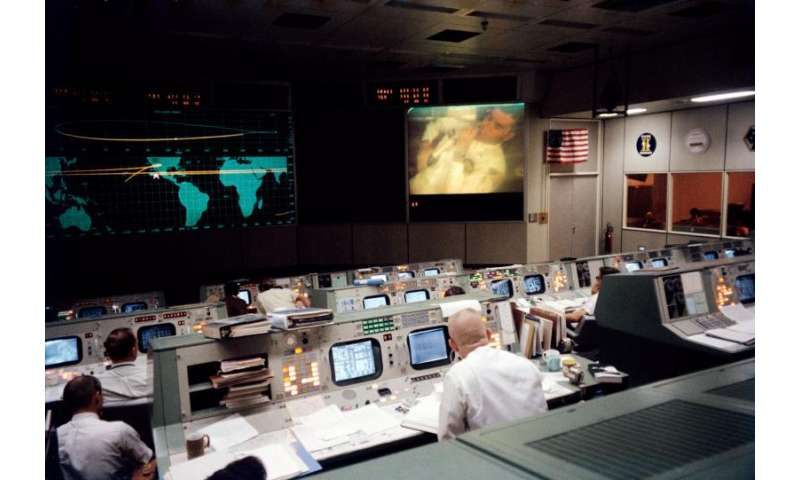 Image: Mission Control, Houston, April 13, 1970