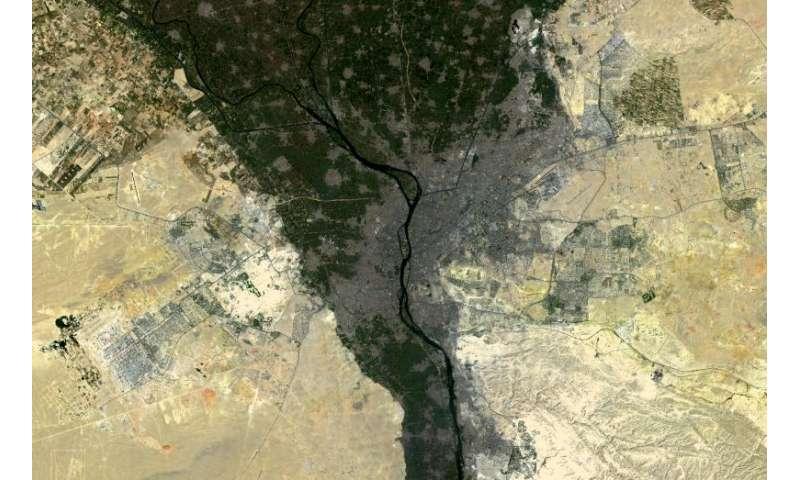 Image: Nile delta fertility