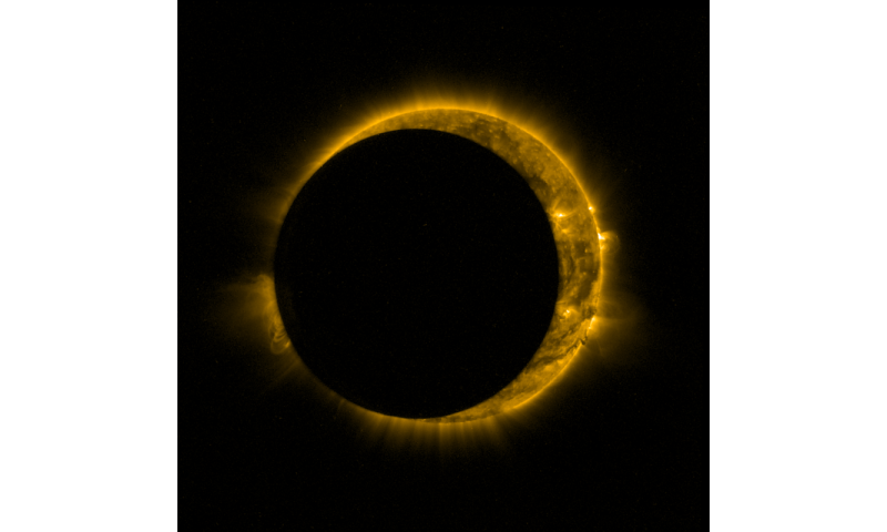 Image: Proba-2 captures partial solar eclipse