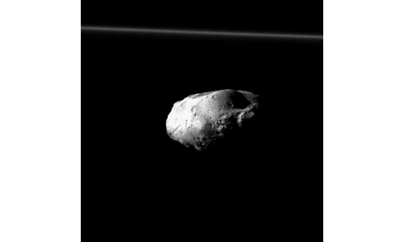 Image: Prometheus up close