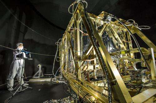 Image: Simulating space for JWST's four infrared instruments