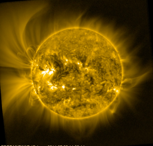 Image: Solar corona viewed by Proba-2Login | Register
