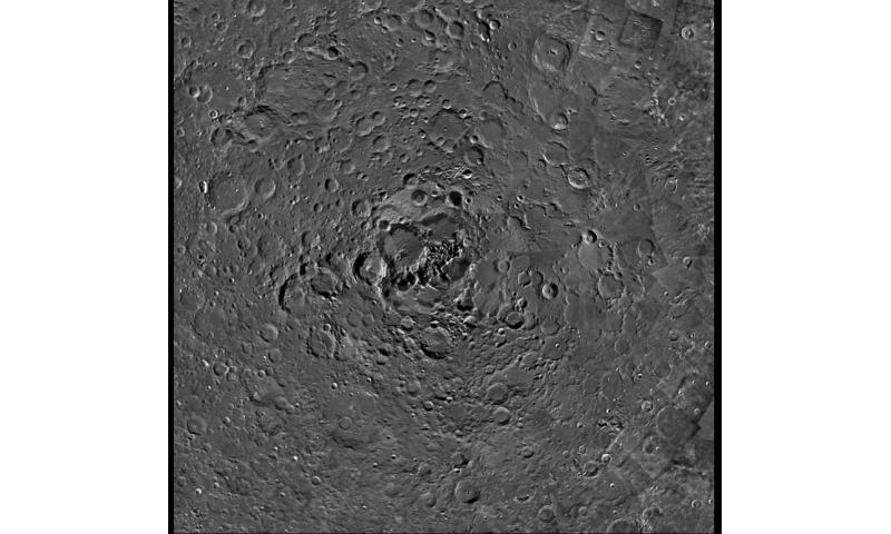 Image: The lunar North Pole