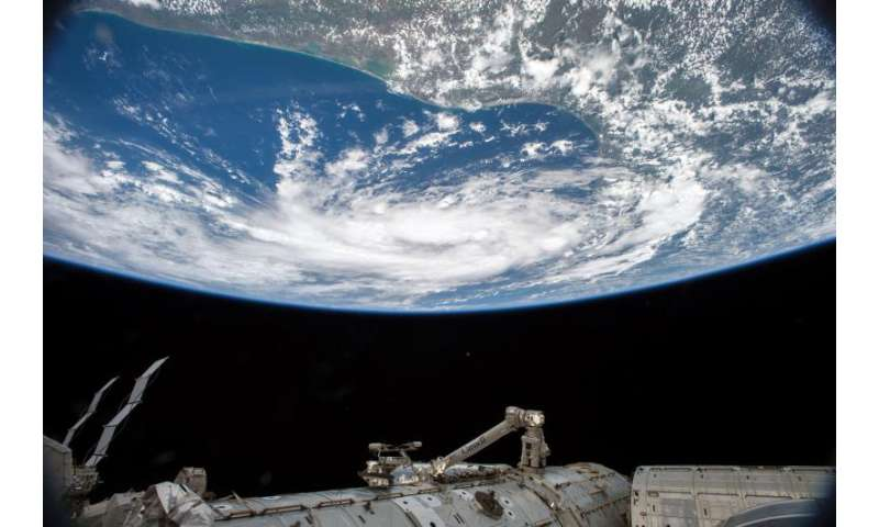 Image: Tropical Storm Bill from the International Space Station